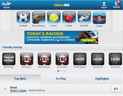 William Hill Sports Mobiele Webblad